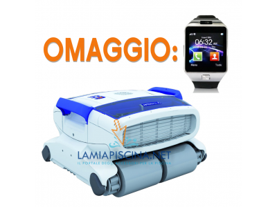 ROBOT PISCINA ASTRALPOOL HURRICANE 3 H3 DUO + SMARTWATCH IN OMAGGIO