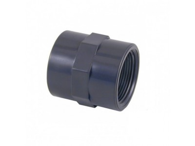 "MANICOTTO 1 1/2"" (FILETTO FEMMINA) PVC RACCORDI PISCINA"