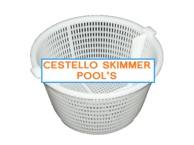 CESTELLO PISCINA SKIMMER POOL'S