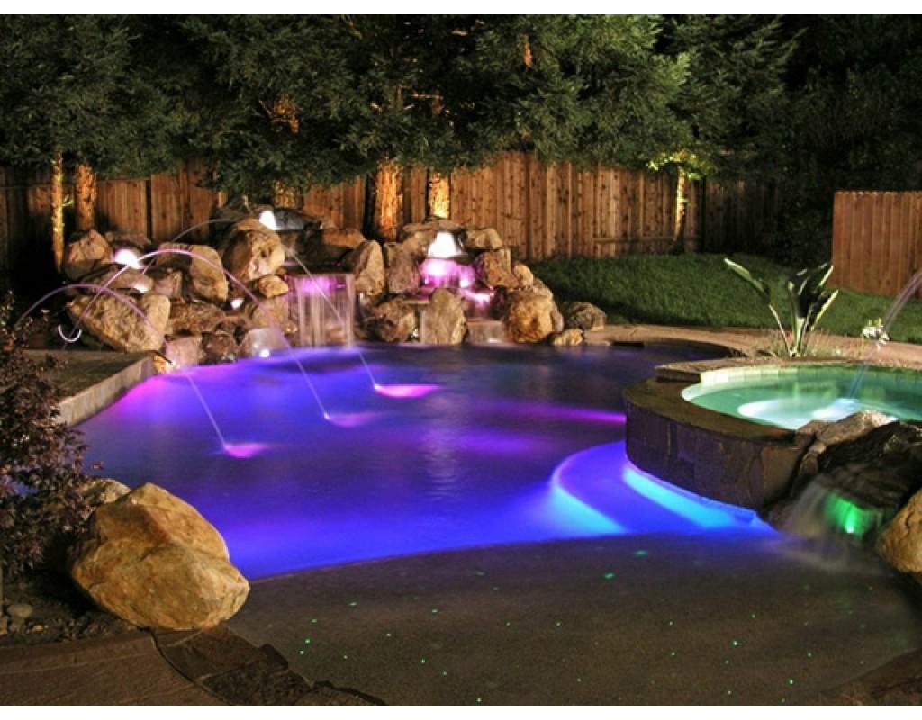 Lampada piscina led colorata lumiplus astralpool