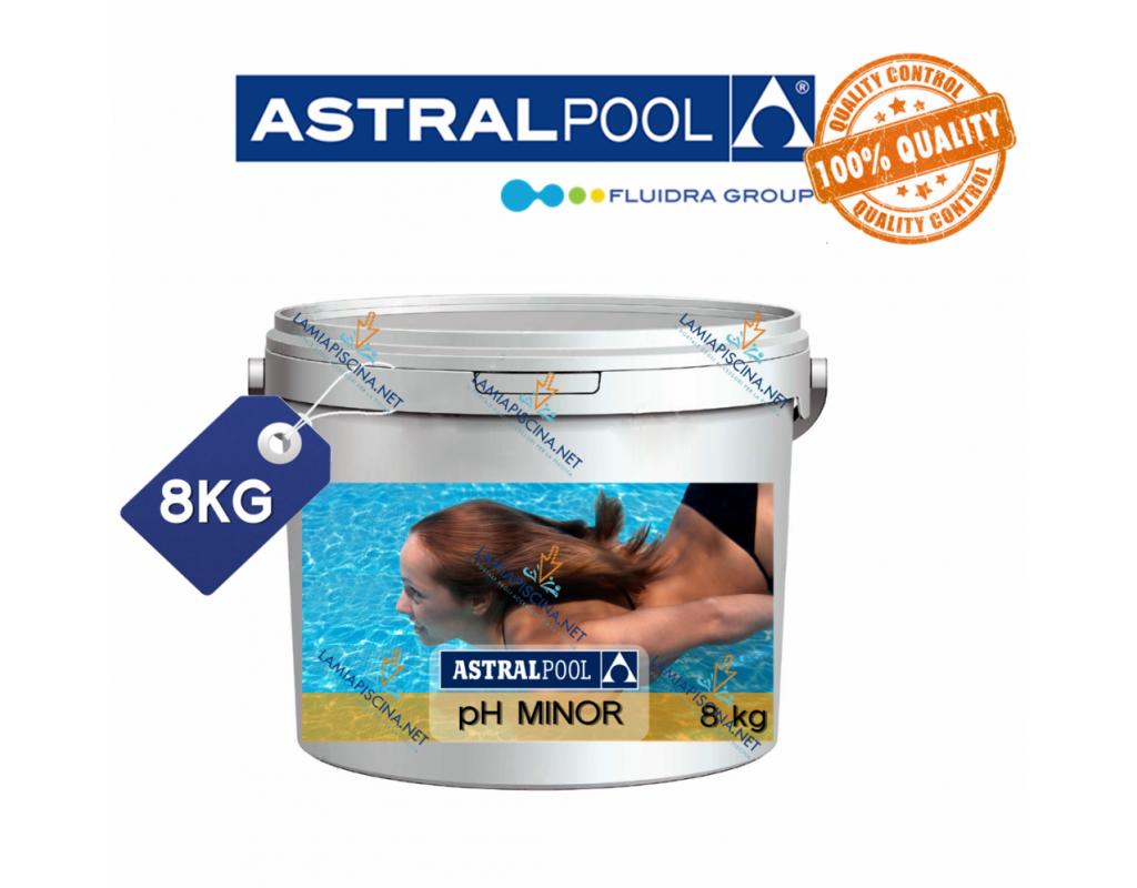 Ph piscina granulare 8kg for Ph piscina