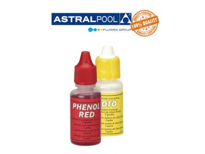RICAMBIO ANALISI PISCINA CLORO&BROMO E pH