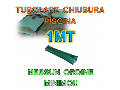SALSICCIOTTI / SALAMOTTI PER COPERTURA  PISCINA 1mt (TUBOLARI PERIMETRALI)