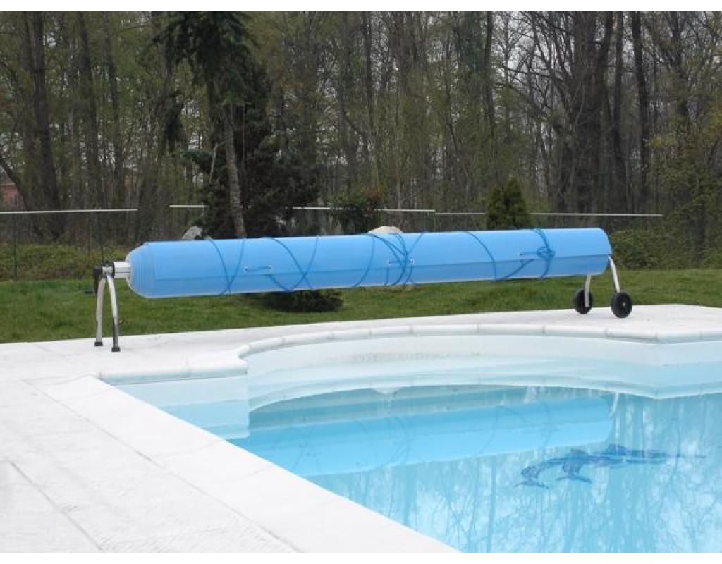 Tubo centrale alluminio rullo piscina telescopico mt 4 5 5 - Riparazione telo piscina ...