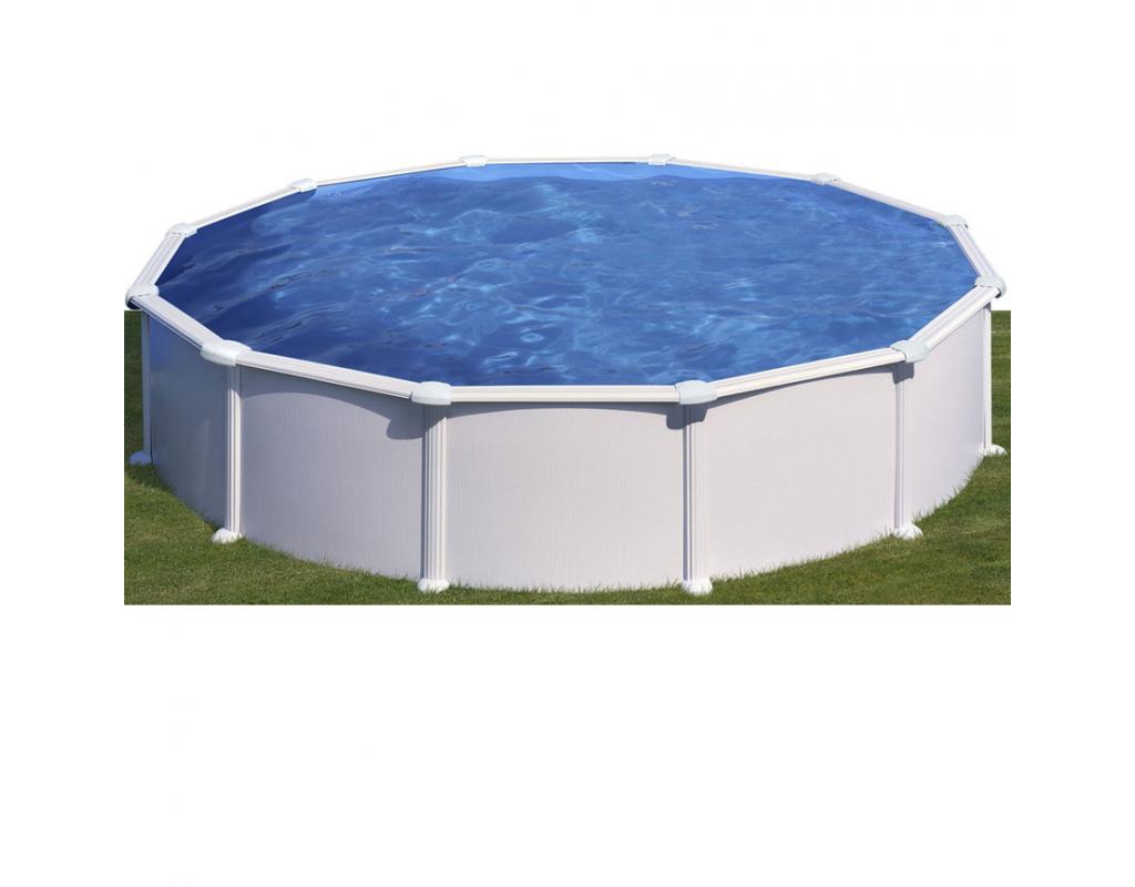 Piscine fuori terra rotonde piscina fuoriterra gre for Poolfolie 460 x 120