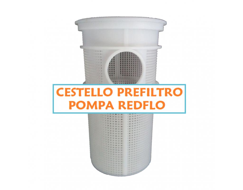 Cestello piscina filtro prefiltro pompa piscina redflo for Pompa x piscina esterna