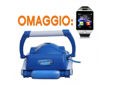 ROBOT PISCINA AQUABOT LEADER CLEAN + SMARTWATCH IN OMAGGIO