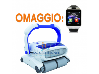 ROBOT PISCINA ASTRALPOOL HURRICANE 5 H5 DUO + SMARTWATCH IN OMAGGIO