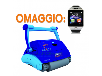 ROBOT PISCINA ASTRALPOOL PULIT ADVANCE 5 + SMARTWATCH IN OMAGGIO