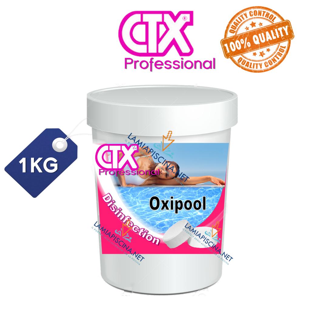 Ossigeno attivo piscina purificatori senza cloro 1kg ctx - Ossigeno attivo per piscine ...